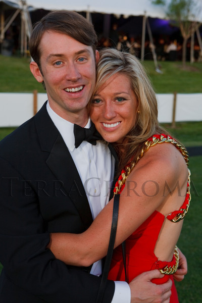 (Littleton, Colorado, June 24, 2011)<br /> xxx and Auna Jornayvaz.  The Del Frisco's - Sullivan's Black Tie Ball, benefitting Denver Active 20-30 Children's Foundation, at Polo Reserve Development in Littleton, Colorado, on Friday, June 24, 2011.<br /> STEVE PETERSON