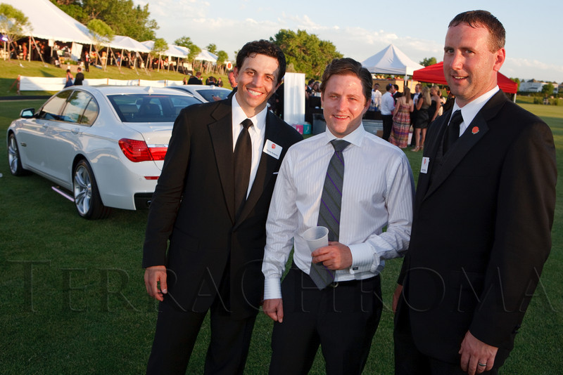 (Littleton, Colorado, June 24, 2011)<br /> Randy Roberts, Aaron Schomp, and Dave Sjerven.  The Del Frisco's - Sullivan's Black Tie Ball, benefitting Denver Active 20-30 Children's Foundation, at Polo Reserve Development in Littleton, Colorado, on Friday, June 24, 2011.<br /> STEVE PETERSON