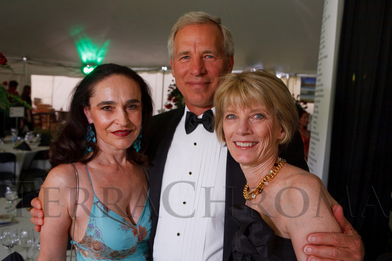 (Littleton, Colorado, June 24, 2011)<br /> Francis Koncilja with Bill and Sharon Steigers.   The Del Frisco's - Sullivan's Black Tie Ball, benefitting Denver Active 20-30 Children's Foundation, at Polo Reserve Development in Littleton, Colorado, on Friday, June 24, 2011.<br /> STEVE PETERSON