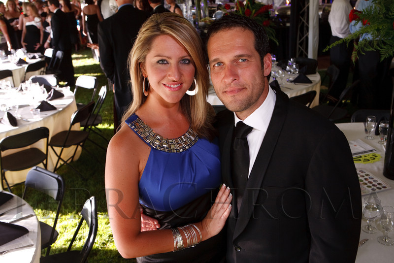 (Littleton, Colorado, June 24, 2011)<br /> Amelia Earhart and Patrick Quinlan.  The Del Frisco's - Sullivan's Black Tie Ball, benefitting Denver Active 20-30 Children's Foundation, at Polo Reserve Development in Littleton, Colorado, on Friday, June 24, 2011.<br /> STEVE PETERSON