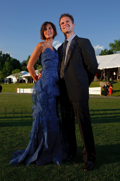 (Littleton, Colorado, June 24, 2011)<br /> Bresee Sullivan and Nick Carlson.  The Del Frisco's - Sullivan's Black Tie Ball, benefitting Denver Active 20-30 Children's Foundation, at Polo Reserve Development in Littleton, Colorado, on Friday, June 24, 2011.<br /> STEVE PETERSON