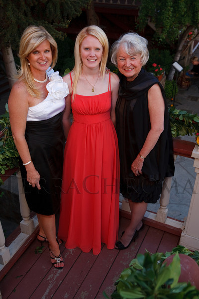 "(Central City, Colorado, June 25, 2011)<br /> Julie Wham, and Courtney ""Coco"" Wham, and Nancy Knowlton.  The Central City Opera ""Yellow Rose Ball,"" presenting the 2011 Flower Girls, at the Central City Opera House in Central City, Colorado, on Saturday, June 25, 2011.<br /> STEVE PETERSON"