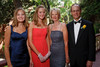 """(Central City, Colorado, June 25, 2011)<br /> Emily, Jennifer, Sue, and Lou Clinton.  The Central City Opera """"Yellow Rose Ball,"""" presenting the 2011 Flower Girls, at the Central City Opera House in Central City, Colorado, on Saturday, June 25, 2011.<br /> STEVE PETERSON"""