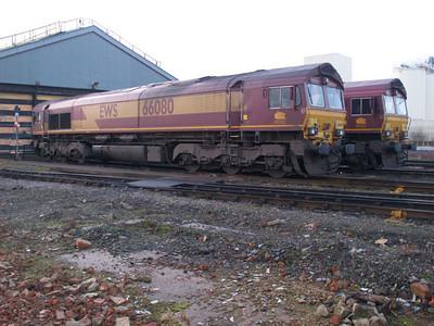 66080  on Immingham TMD 22/01/11
