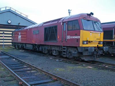 60040  on Immingham TMD 22/01/11