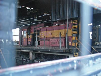 08685  inside Immingham TMD 22/01/11
