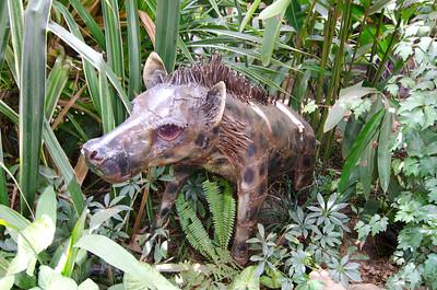 Hyena sculpture
