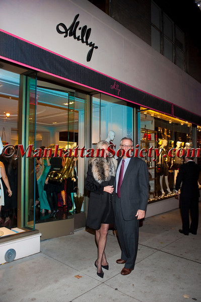 Ingrid Edelman, Thomas Edelman attend 'Celebrate the Neighborhood' to Benefit LENOX HILL NEIGHBORHOOD HOUSE co-hosted by Milly & The Associates Committee on Wednesday, November 30, 2011 at Milly Boutique, 900 Madison Avenue at 73rd Street, New York City, NY   PHOTO CREDIT: ©Manhattan Society.com 2011 by Christopher London