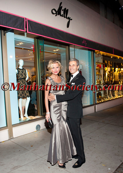 Barbara Regna, Peter Regna attend 'Celebrate the Neighborhood' to Benefit LENOX HILL NEIGHBORHOOD HOUSE co-hosted by Milly & The Associates Committee on Wednesday, November 30, 2011 at Milly Boutique, 900 Madison Avenue at 73rd Street, New York City, NY   PHOTO CREDIT: ©Manhattan Society.com 2011 by Christopher London