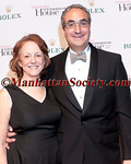 """Jane Spinak and Warren Scharf attend Lenox Hill Neighborhood Houses' Spring Gala Celebration, """"You're the Top!"""" Honoring Elizabeth Rohaytn Sponsored by Rolex Watch U.S.A. on Wednesday, April 20, 2011 at Cipriani 42nd Street, New York City, NY  PHOTO CREDIT: Copyright ©Manhattan Society.com 2011 by Christopher London"""