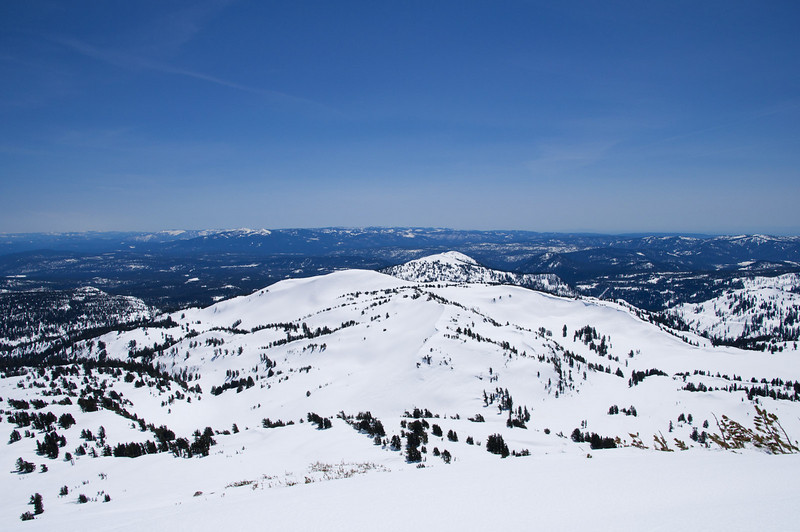 Eastern California view