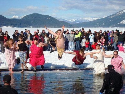 Law Enforcement Torch Run Polar Plunges