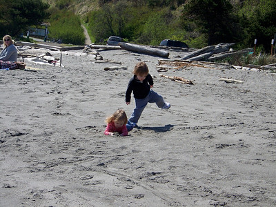 Beach stomp
