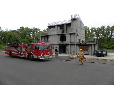 Live Fire Training Evolution-Springfield Training Center 5/22/11