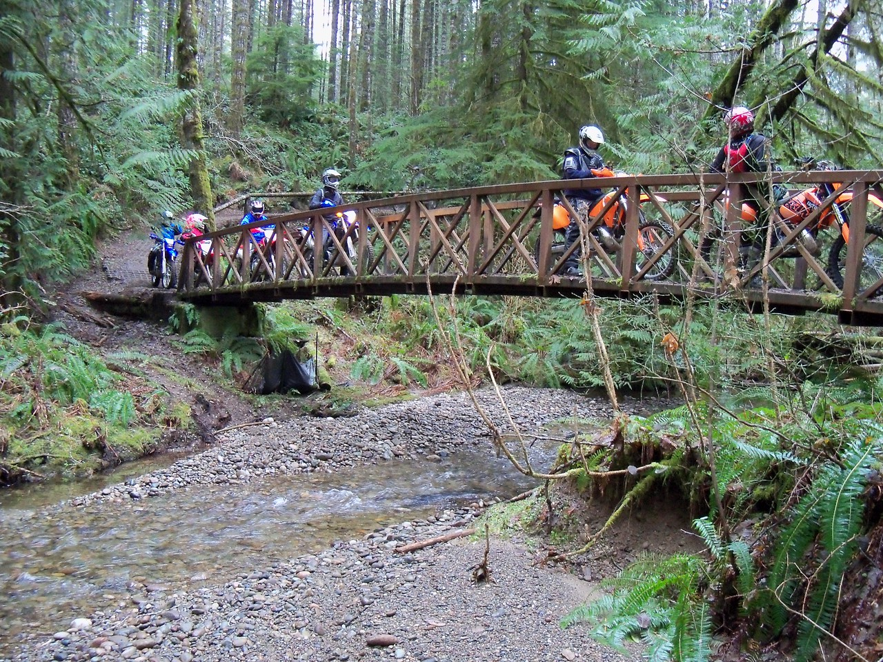 First Bridge on the lower Overland Trail