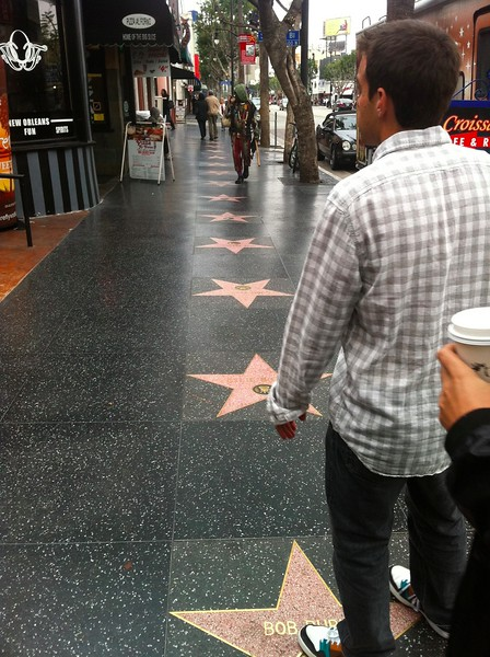Bryan on Walk of Stars