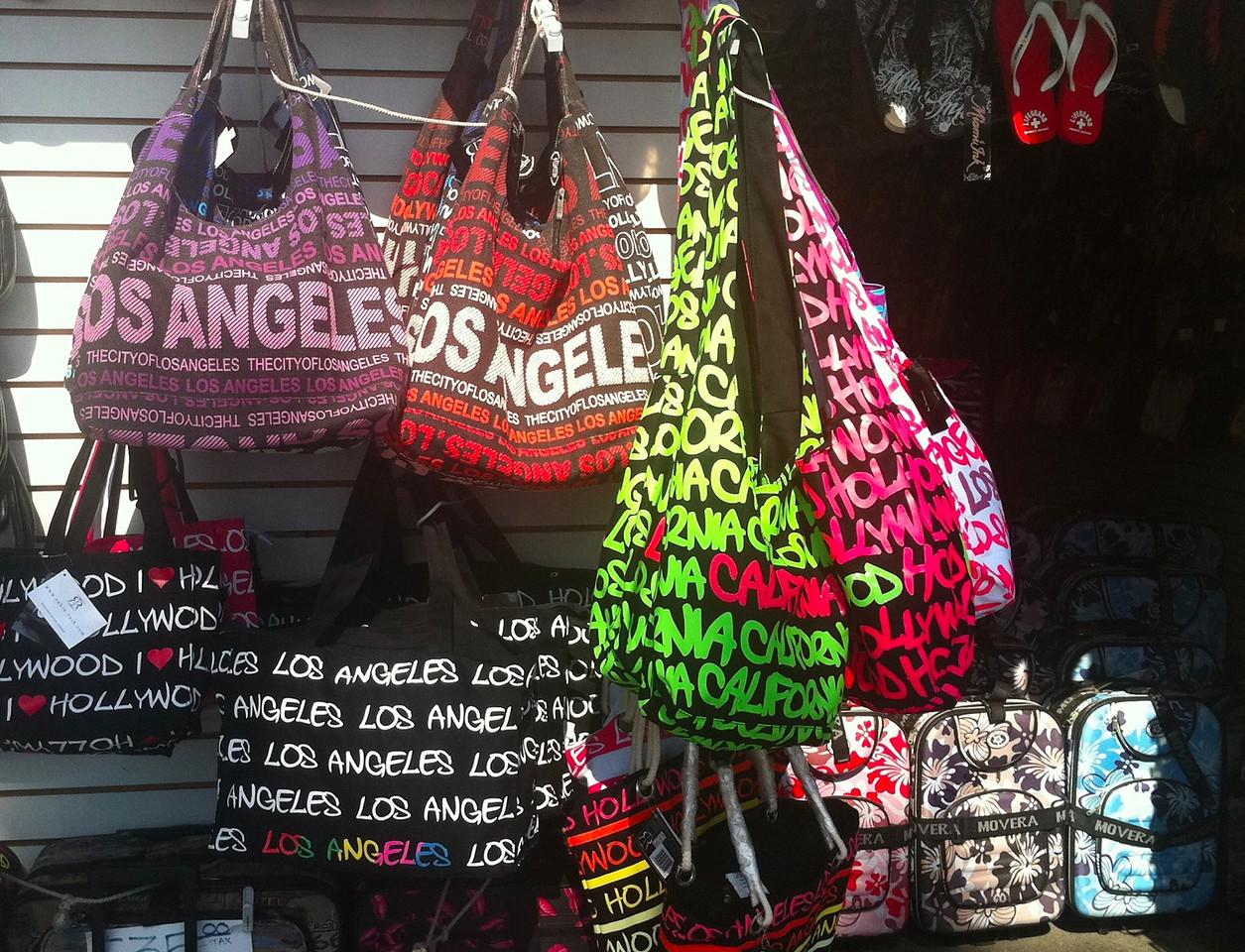 Bags on Venice Beach