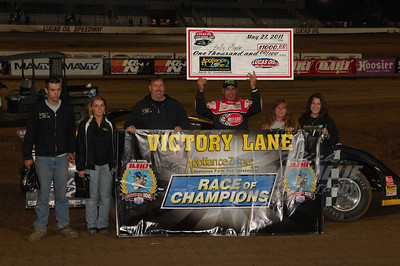 Billy Moyer won the ApplianceZone.com Race of Champions