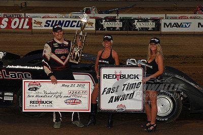 John Blankenship won the Red Buck Cigars Fast Time Award