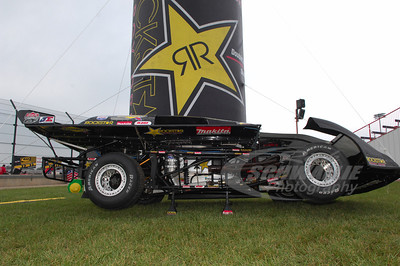 Steve Casebolt's cut away car