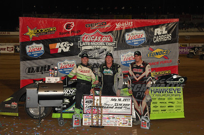 Jimmy Owens, Scott Bloomquist, John Blankenship