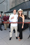 "Agostino von Hassell, Suzy ""Sirloin' Strassburger attend MARINE CORPS Drum & Bugle Corps -""The Commandant's Own"" - BBQ on Friday, July 1, 2011 at New York Athletic Club at 180 Central Park South, New York City  PHOTO CREDIT: ©Manhattan Society.com 2011"