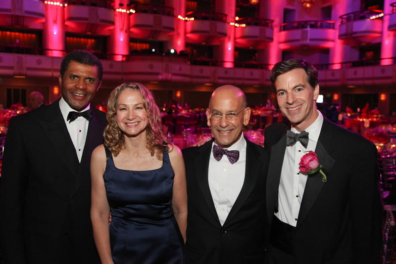 Dr. Philip O. Ozuah, Professor and University Chairman, Montefiore Medical Center and Albert Einstein College of Medicine, Physician-in-Chief, The Children's Hospital at Montefiore, Singer and Songwriter, Joan Osborne, Dr. Steven M. Safyer, President and CEO of Montefiore, David A. Tanner, Chairman of the Board of Trustees, Montefiore.