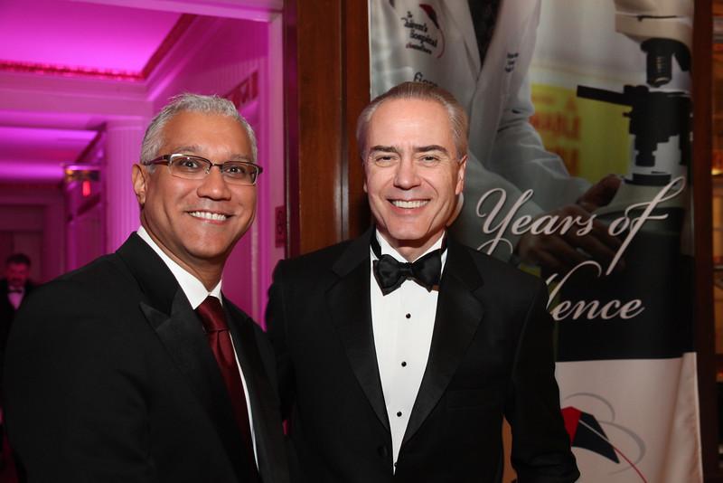 Dr. Milan Kinkhabwala and Dr. Victor Schuster