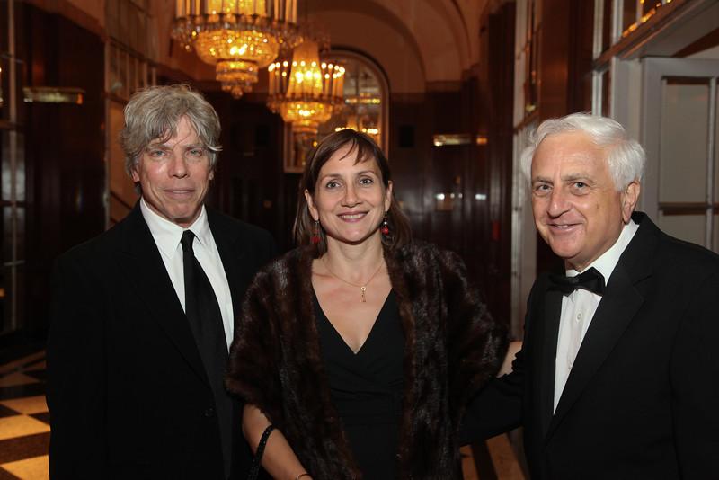 Ken Sunshine, Lynn Richmond and Donald L. Ashkenase