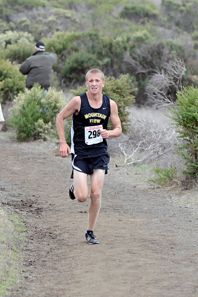 Filling Tommy's #3 slot was Nick Van Osdol, who ran a massive 40 seconds faster than at Leagues, to PR in 16:16. Nick had been running quite impressively in workouts lately, especially at Shoreline last Saturday.