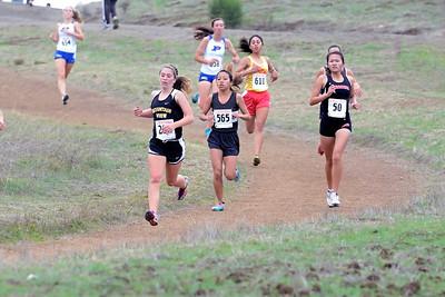 Melissa Reed was several strides back...
