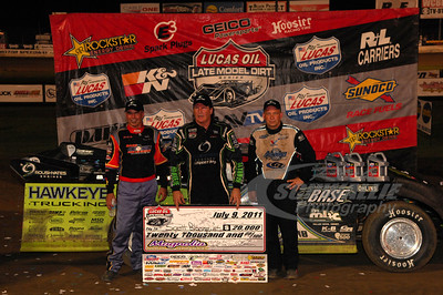 Billy Moyer, Scott Bloomquist, Steve Francis