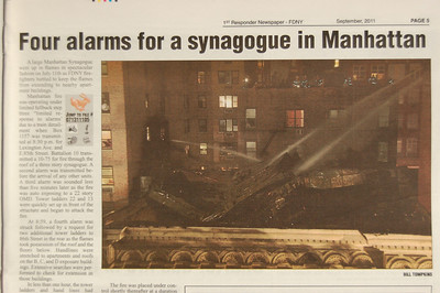 1st Responder Newspaper - FDNY - September 2011