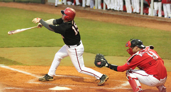 Dusty Quattlebaum homered in the first night game in GWU history.