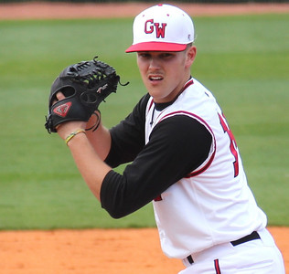 #14 Conner Scarborough took the mound against UNC-Asheville on March 19th, 2011.