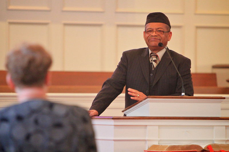 "C.O. & Eliza Greene Lecture Series at Gardner-Webb University hosts Dr. J. Alfred Smith, Sr. on March 28, 2011, who speaks here a message entitled, ""The Justice Itinerary of Jesus Christ: Toward Adoption, Replication, and Implementation."""