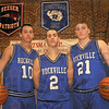 MET031011union TsTribune-Star/Jim Avelis<br /> Seniors: Rockville basketball team seniors Zac Kempf, Tyler Bradburn and Eric Lear are headed to Frankfort this weekend with their team for a chance to move on to the semi-state round of he boy's state championship tournament.
