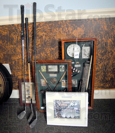 Auction items: Some of the items being auctioned online.