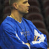 Repeaat: Matt Renn, standout on the two ISU teams that went to the NCAA tournament in 2000-2001, watches the current edition of the Sycamores practice Thursday.