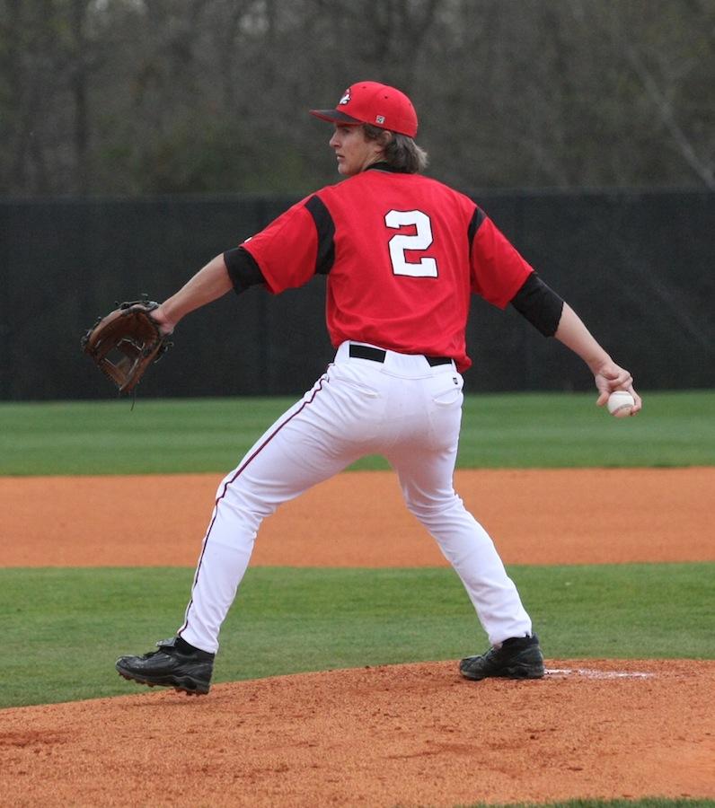 The starting pitcher for Gardner-Webb.