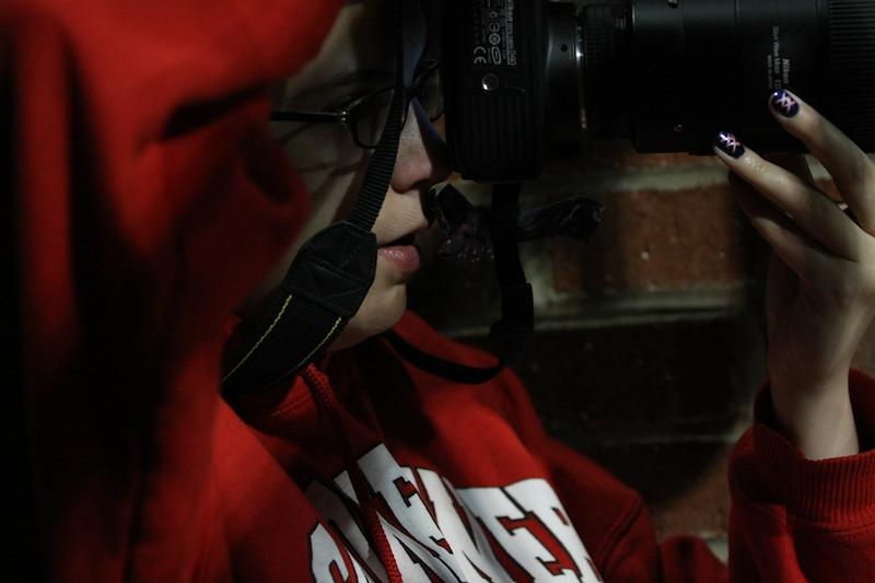 Photojournalist for GWU-Today, Amanda Smith.
