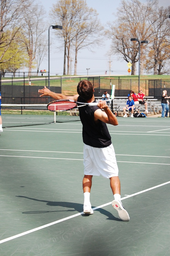GWU Women and Men's Tennis face off against Ashville