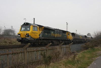 70002 Warrington Arpley 29/03/11 4F02 Garston to Ellesmere Port