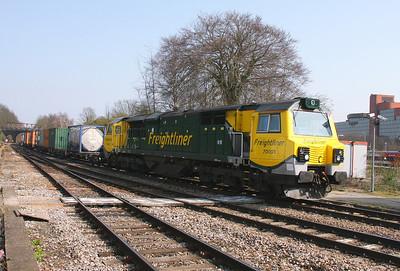 70003 Basingstoke 25/03/11 4O51 Wentloog to Southampton