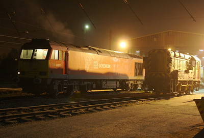 60011 Warrington Arpley 27/03/11 being prepared to work 4V32 to Onllywn