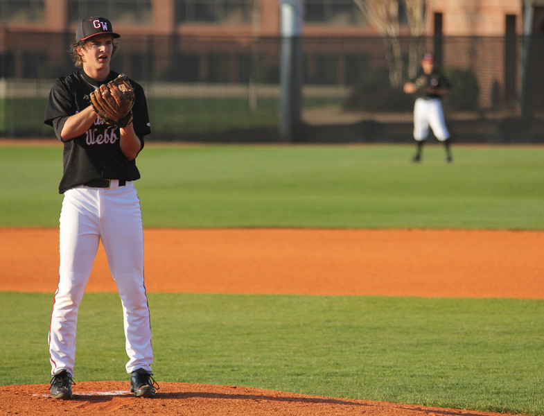 #2 Brandon Boling started on the mound against UNC-Asheville.