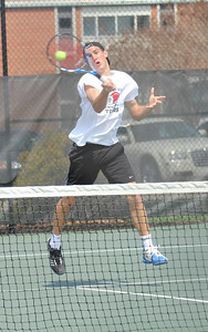 Julien Belair plays in a match against Pfeiffer University on Saturday, March 19th, 2011.