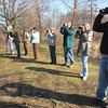 Wetlands: A group of Wabash Valley birders gather in the J.I. Case Wetlands Saturday morning.