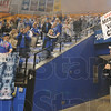Tribune-Star/Rachel Keyes<br /> Welcome home: Indiana State gets a warm welcome home from over a thousand fans Sunday night at Hulman Center.