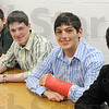 Science Bowl team: From left, Alex Barksdale, Michael Mardini, Ian Francis, Mark Botros and Joseph Botros.